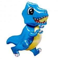 Ходячка Динозаврик голубой 51х77 см (Китай БФ)