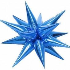 """3d їжачок 26"""" (70см) синій КИТАЙ"""