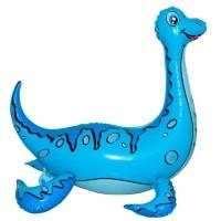 Стояча куля Плезіозавр блакитний 58х60 см (Китай БФ)