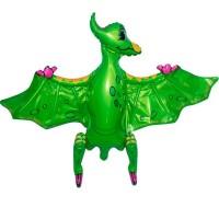 Стояча куля Птеродактиль зелений 80х55 см (Китай БФ)