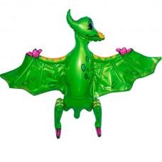 Стоячка Птеродактиль зеленый 80х55 см (Китай БФ)