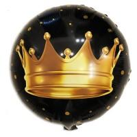 """18"""" (45см) Коло Корона на чорному (Китай)"""