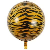 Фольгована сфера 3D Тигр 28х56см (Китай)