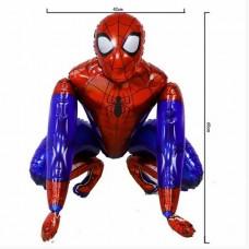 Ходячий шар Человек Паук 42х65 см (Китай)