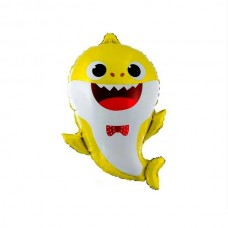 Акула малюк жовтий 49х66см (baby shark Китай БФ)