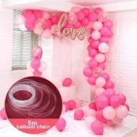 Пластиковая лента для гирлянды из шаров (5м)
