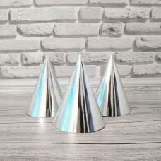 Колпаки хром серебро (10шт)