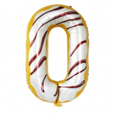 Фольгована цифра 0 Candy number 102см Китай