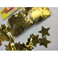 Конфетті зірочки золоті 50гр