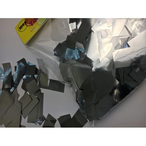 Конфетти полоски серебряные 100гр
