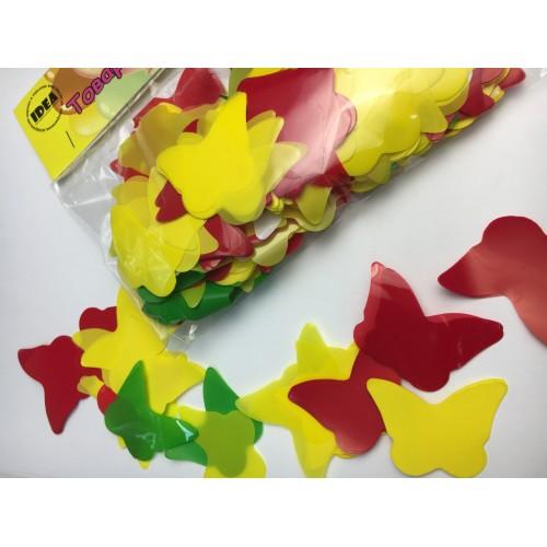 Конфетті метелики асорті 50гр