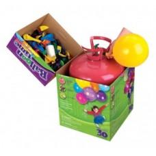 Портативний балон с геліем (одноразовий)