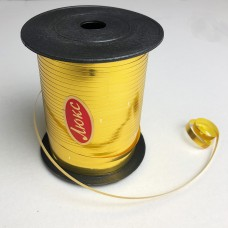 Лента для шариков золото 150м ЛЮКС