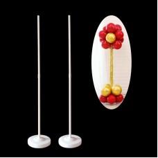 Стійка з підставою для колони з куль (120см)