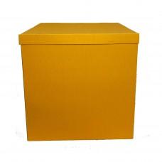 Коробка для шаров + крышка Голден Роад 70х70х70 (1шт)