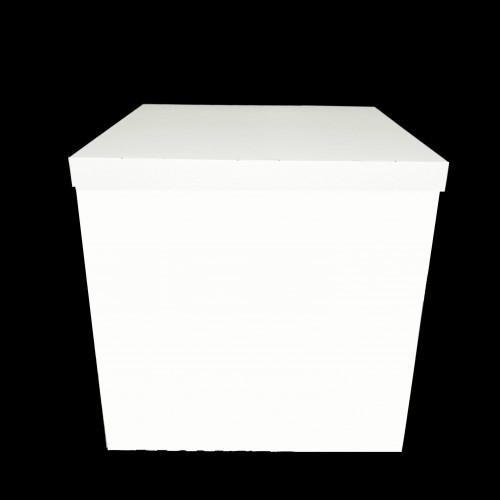 Коробка для шаров + крышка БЕЛАЯ 70х70х70см (1шт)