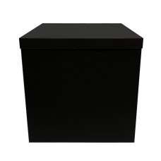 Коробка для куль + кришка чорна (super black) 70х70х70 (1шт)