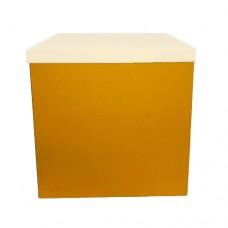 Коробка для шаров БЕЗ крышки Голден Роад (1шт) 70х70х70