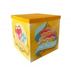 Коробка для куль дизайн Твой День 70х70х70 (1шт)