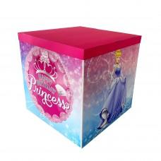 Коробка для куль дизайн принцеса 70х70х70 (1шт)
