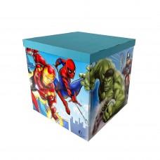 Коробка для куль супер герої ІГРИ 70х70х70 (1шт)