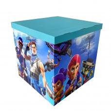 Коробка для куль дизайн ІГРИ 70х70х70 (1шт)