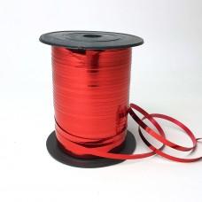 Лента для шариков красная  150м ЛЮКС