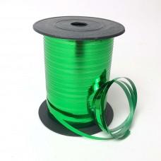 Лента для шариков зеленая  150м ЛЮКС