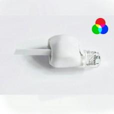 Светодиод в оболочке (разноцветный-мигающий быстро)