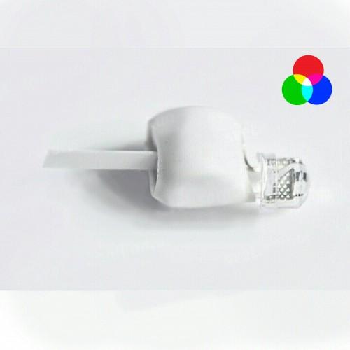 Светодиод в оболочке (разноцветный-мигающий медленно)