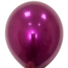 """12"""" (30см) Кулька латексна Даблстафф Хром ФІОЛЕТ (1шт)"""