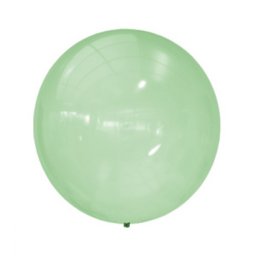 M 24/61см Кристалл Bubble GREEN (255) 1шт