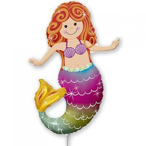 МиниФигура шар русалка с хвостом радужным (fm Испания)