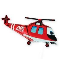 МиниФигура вертолет спасательный красный (fm Испания)