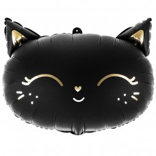Кошечка черная 48*36 см(Польша БФ)