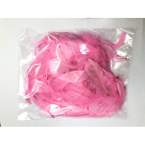 Перья розовые (15гр +-4гр)