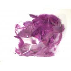 Перья фиолетовые (15гр +-4гр)