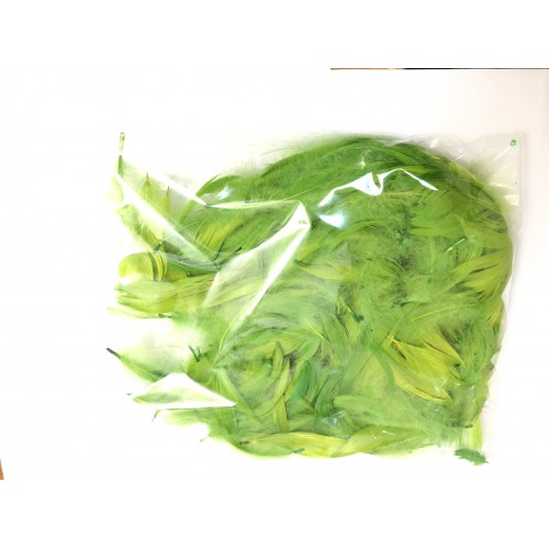 Перья салатовые (15гр +-4гр)