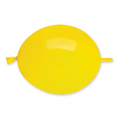 """G Линколун 6"""" (15см) желтый 02 (100шт)"""