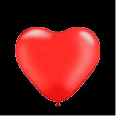 """12"""" (30см) Серця червоні (100шт) kalisan"""
