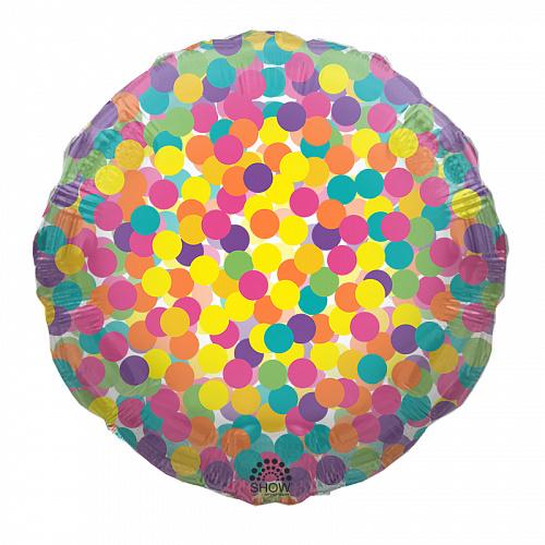 "SH 18"" (45см) Круг цветное конфетти"