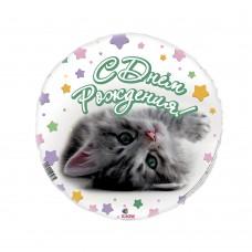 """SH 18"""" С Днем Рождения. Котенок"""