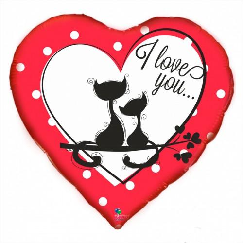 """SH 18"""" I love you котята"""