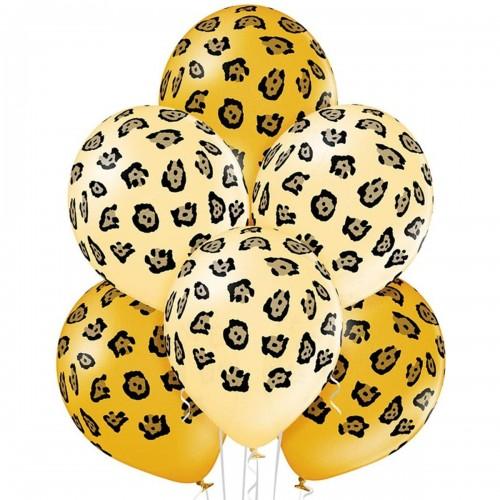 """14 """"(36см) кулі з малюнком Леопард плями (25шт)"""