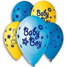 """G 12"""" с рисунком baby boy (100шт)"""