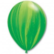 """11"""" (28см) супер агат зеленый (25шт) США"""