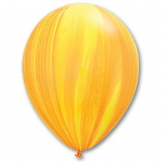 "11"" (28см) супер агат желто-оранжевый США"