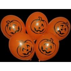 """Gemar 12 """"(30см) помаранчевий ГАРБУЗ (25шт) хеллоуин"""