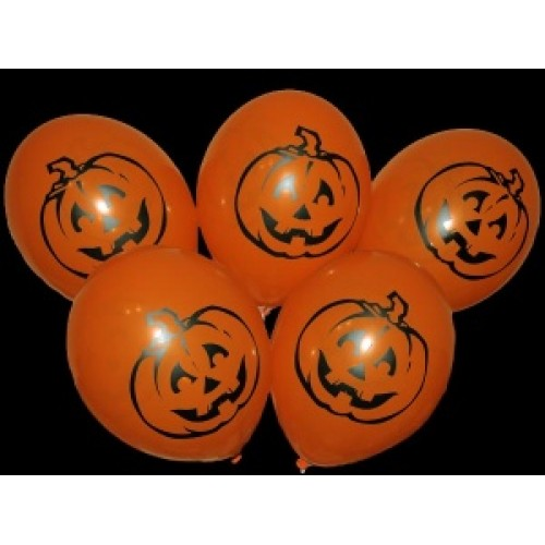 "Gemar 12""(30см) оранжевая ТЫКВА (25шт) хеллоуин"