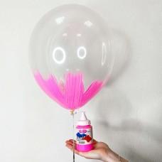 Краска для БРАШ розовая 250мл